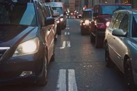 car driving roads