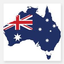 flag map australia