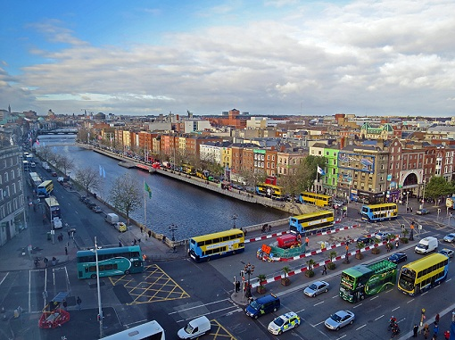 Ireland road, Dublin