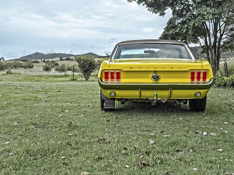 Mustang luxury car images