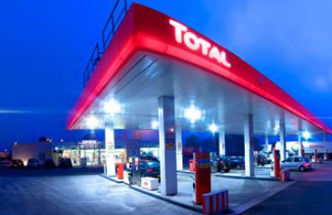 Total gas oil station