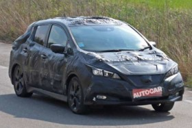 2018 Nissan Leaf spotted