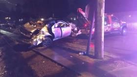 Burien car crash, hit and run