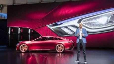 Dieter Zetsche at Geneva Motor Show
