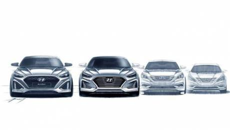 Hyundai Sonata facelift revealed