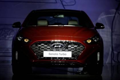Hyundai Sonata seoul south korea