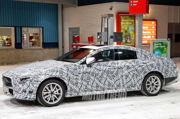 Next-Gen Mercedes-Benz CLS prototype spied