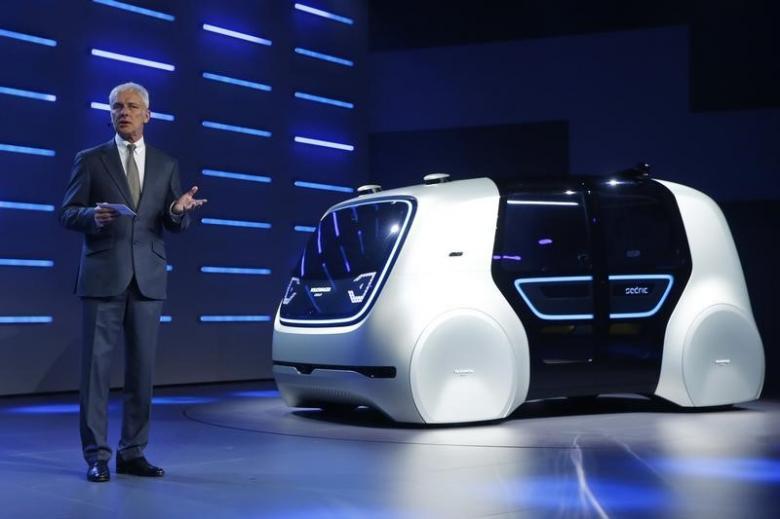 Sedric, Volkswagen self-driving car