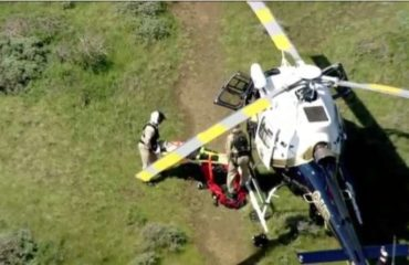 man saved after car goes over cliff marin headlands