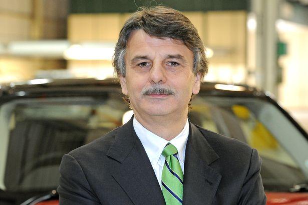 Jaguar Land Rover CEO Ralph Speth