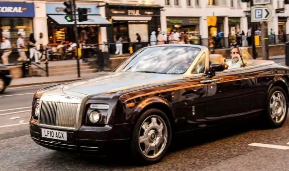 rolls royce theft belonging to saudi prince
