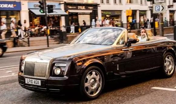 rolls royce theft belonging to saudi prince