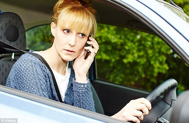 using mobile phones while driving