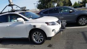 Apple Lexus self-driving vehicle