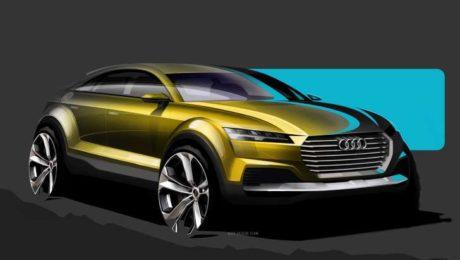 Audi Q4 sketch