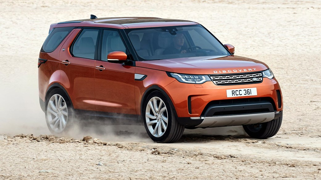 Jaguar Land Rover Discovery 5