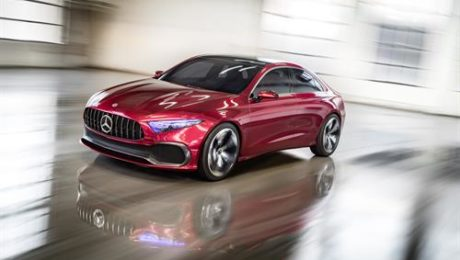 Mercedes Benz Concept A Sedan, Shanghai Motor Show