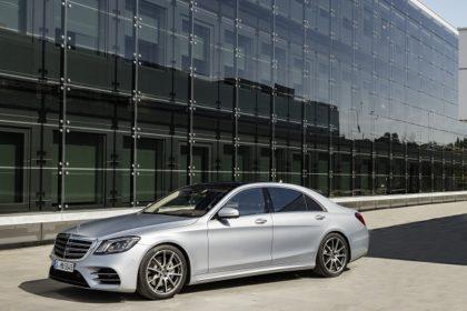 New Mercedes Benz S-Class, 2017 Shanghai Motor Show