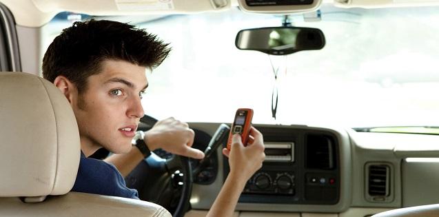 teenage car driver