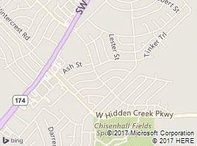 Burleson, Southeast Gardens Boulevard, Texas