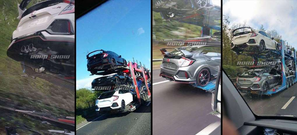 2017 Honda Civic Type R spotted