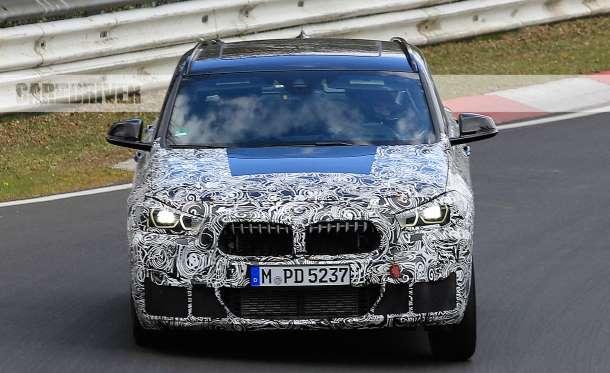 2018 BMW X2 spied testing