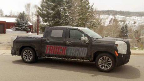 2019 Silverado and Sierra 1500 Spied Testing