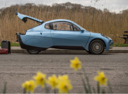Riversimple Rasa hydrogen fuel cell electric car