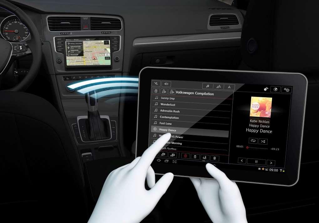 Volkswagen's Media Control App