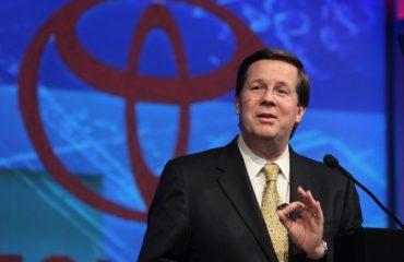 Toyota North America CEO Jim Lentz