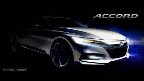 2018 Honda Accord sketch