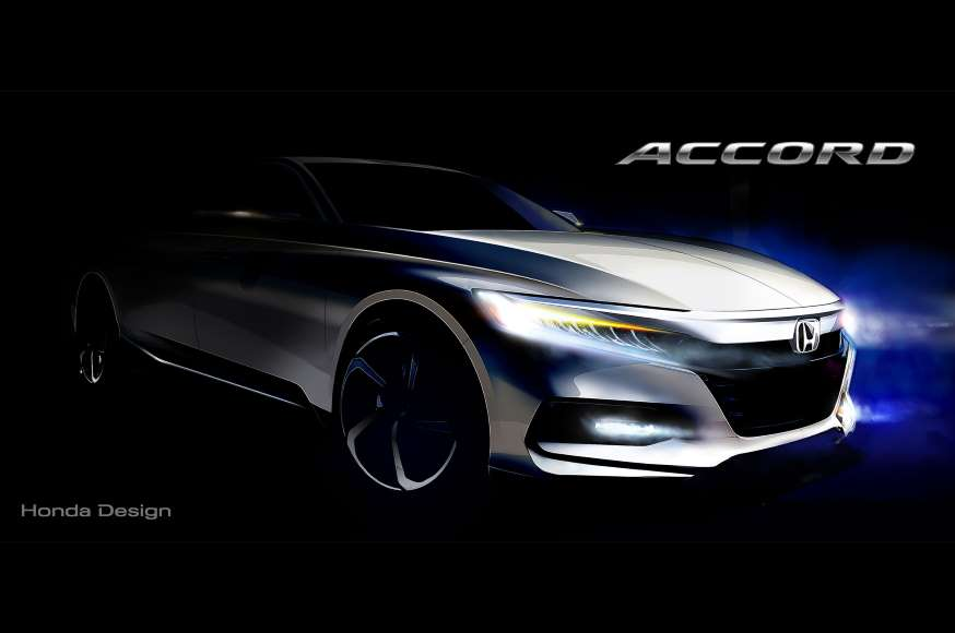 2018 Honda Accord sketch
