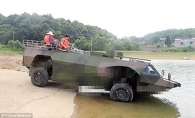 China fastest armored vehicle