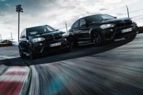 BMW Black Fire Edition X5 and X6 M