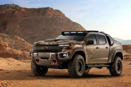 Hydrogen Fuel Cell-Powered Colorado ZH2