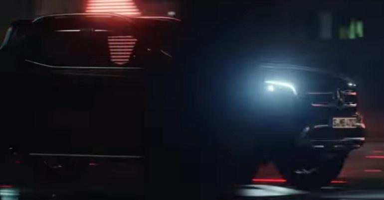 Mercedes-Benz X-Class teaser