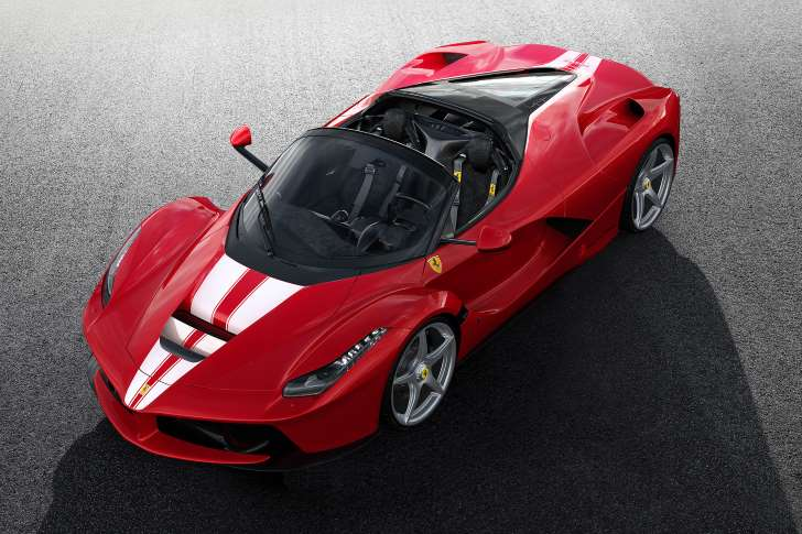 2017 Ferrari LaFerrari Aperta auction