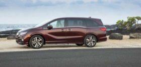 2018 Honda Odyssey pictures
