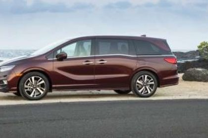 2018 Honda Odyssey pictures