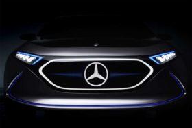Mercedes-Benz EQ A concept Teased