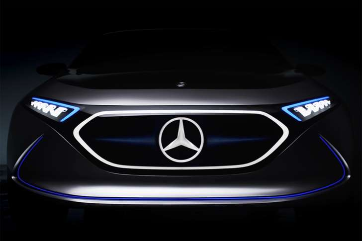 Mercedes-Benz EQ A concept Teased