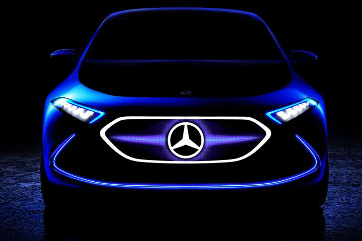 Mercedes-Benz EQ A Teased