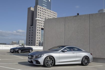 Mercedes-Benz S-Class Coupe and S-Class Cabriolet