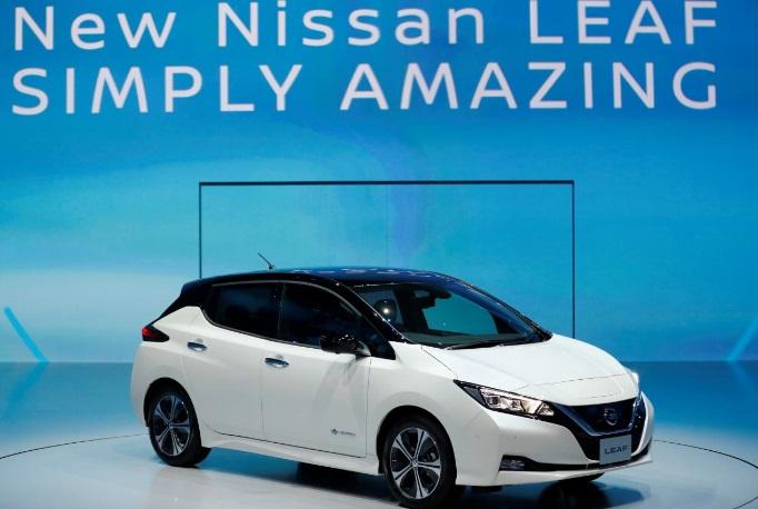 New Nissan Leaf EV Japan 2017