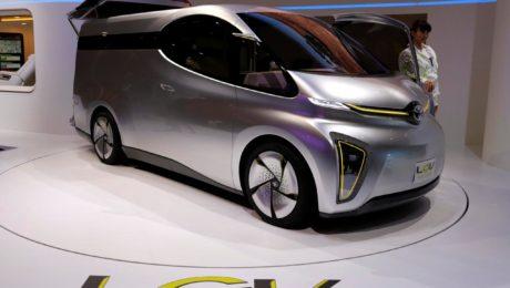 Toyota Auto Body LCV D-Cargo concept Tokyo Motor Show