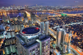 Seoul in South Korea