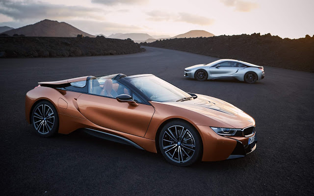 2018 Bmw I8 Roadster And I8 Coupe Revealed At Los Angeles