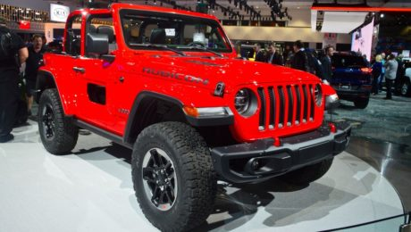 2018 Jeep Wrangler Rubicon revealed at Los Angeles Auto Show