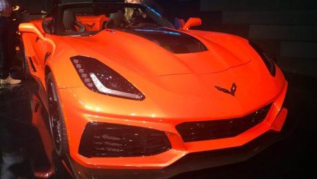 Corvette ZR1 convertible unveiled ahead of Los Angeles Auto Show