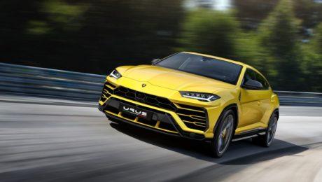 Lamborghini Urus revealed on December 2017